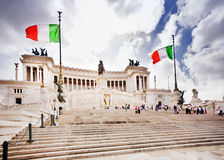 National Monument, Rome Italy. National Monument to Victor Emmanuel II, Rome Italy Stock Photography