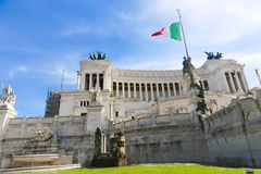 National Monument Rome, Italy. Sculpture and arts at National Monument Rome, Italy Stock Images