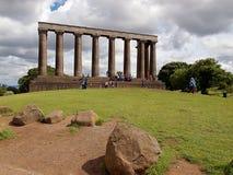 National Monument of Scotland. Royalty Free Stock Photo