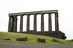 National Monument of Scotland Stock Image