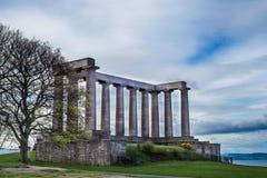 National Monument of Scotland, on Calton Hill in Edinburgh, Scot Royalty Free Stock Photos