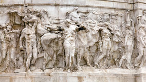 National Monument to Victor Emmanuel II Royalty Free Stock Photo