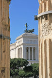 National Monument to Victor Emmanuel II Royalty Free Stock Photography