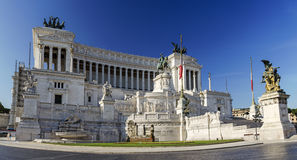 National Monument to Victor Emmanuel II Royalty Free Stock Images