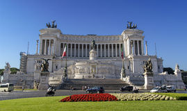 National Monument to Victor Emmanuel II royalty free stock image