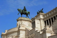 National Monument to Victor Emmanuel II, piazza Venezia, Rome Royalty Free Stock Photography