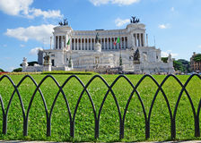 National Monument to Victor Emmanuel II, Rome Stock Photo
