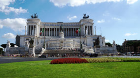 National Monument to Victor Emmanuel II, Rome Royalty Free Stock Photo