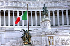 National Monument to Victor Emmanuel II Rome - Italy Stock Photos