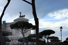 National Monument to Victor Emmanuel II Rome - Italy Royalty Free Stock Image