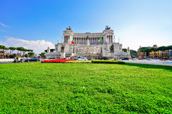 National Monument to Victor Emmanuel II in Rome Stock Image