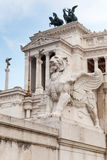 National Monument to Victor Emmanuel II in Rome Stock Images