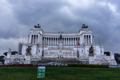National Monument to Victor Emmanuel II Stock Photo
