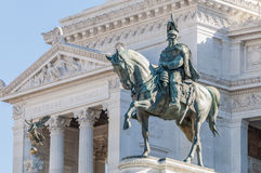 National Monument to Victor Emmanuel in Rome, Italy. Royalty Free Stock Photography