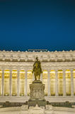 National Monument to Victor Emmanuel in Rome, Italy. Stock Photography