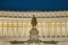 National Monument to Victor Emmanuel in Rome, Italy. Stock Photos