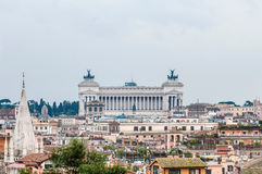 National Monument to Victor Emmanuel in Rome, Italy. Stock Photo
