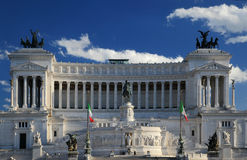 National monument to Vittorio Emanuele II Royalty Free Stock Image