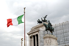 National Monument of Victor Em stock photography