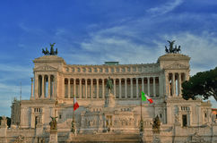 National Monument of Victor Emmanuel II Royalty Free Stock Photos
