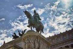 National monument of Vittorio Royalty Free Stock Photo