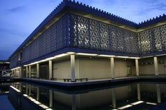 National mosque kuala lumpur malaysia Royalty Free Stock Photo