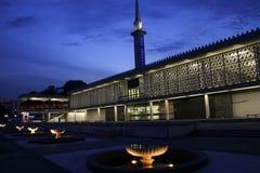 National mosque kuala lumpur malaysia night Stock Photography
