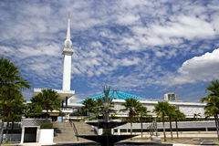 National Mosque of Malaysia Royalty Free Stock Images