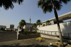 The National Mosque of Malaysia a.k.a Masjid Negara Stock Photo
