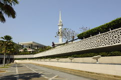 The National Mosque of Malaysia a.k.a Masjid Negara Royalty Free Stock Photography