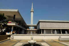 National Mosque of Malaysia a.k.a Masjid Negara Royalty Free Stock Images