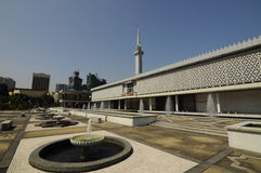 The National Mosque of Malaysia a.k.a Masjid Negara Stock Images