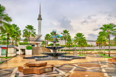 National Mosque of Malaysia in Kuala Lumpur Stock Photos