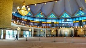 National Mosque of Malaysia in Kuala Lumpur Royalty Free Stock Image