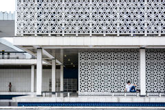 National Mosque of Malaysia, Kuala Lumpur Royalty Free Stock Images