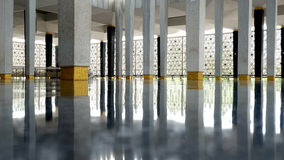 National Mosque of Malaysia Royalty Free Stock Photo