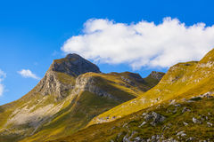 National mountains park Durmitor - Montenegro Royalty Free Stock Photography
