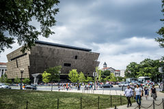 National Museum of African American History and Culture Stock Photography