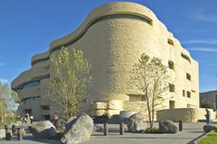 National Museum of the American Indian, Smithsonian, in Washington D.C. Stock Photography
