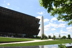 The National Museum of amrican Amrican History DC usa royalty free stock photography
