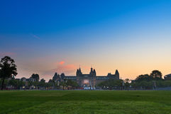 National museum Amsterdam Royalty Free Stock Photo