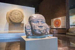National Museum of Anthropology (Museo Nacional de Antropologia, Stock Photography
