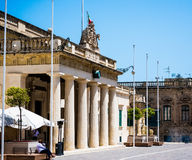 National Museum of Archaeology in Valletta. Valletta, Malta - 25 May 2015: entrance to National Museum of Archaeology in Valletta in Malta Royalty Free Stock Photo
