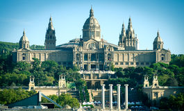 National Museum of Art in Barcelona Stock Photos