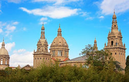 National Museum of Art in Barcelona, Spain Royalty Free Stock Photo