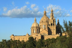 National Museum in Barcelona Royalty Free Stock Photo