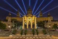 National Museum in Barcelona, Catalonia, Spain Royalty Free Stock Photos
