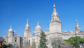 National Museum in Barcelona, Spain Stock Image