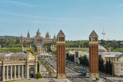 National Museum in Barcelona Stock Photography