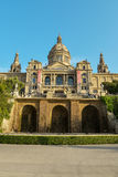 National Museum in Barcelona Royalty Free Stock Photos